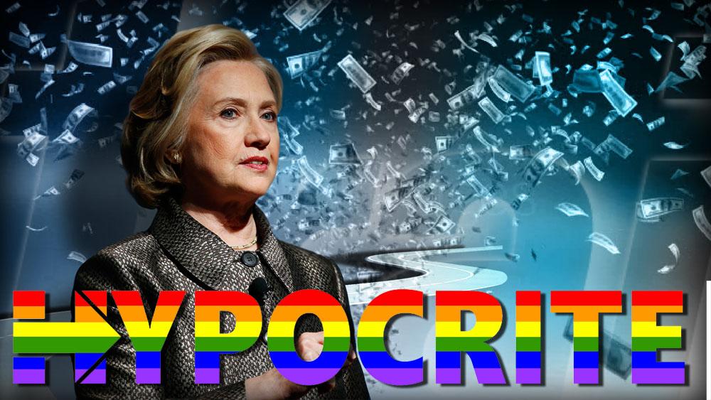Hillary LGBT Hypcrite