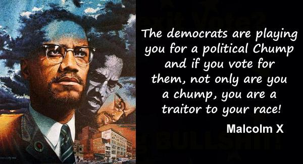 Malcolm X Denounces Democrats
