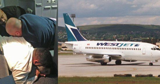 Westejet-plane-v-passengers