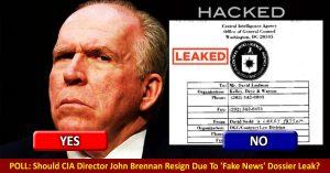 enVolve-poll--john-brennan-leaked-trump-dossier