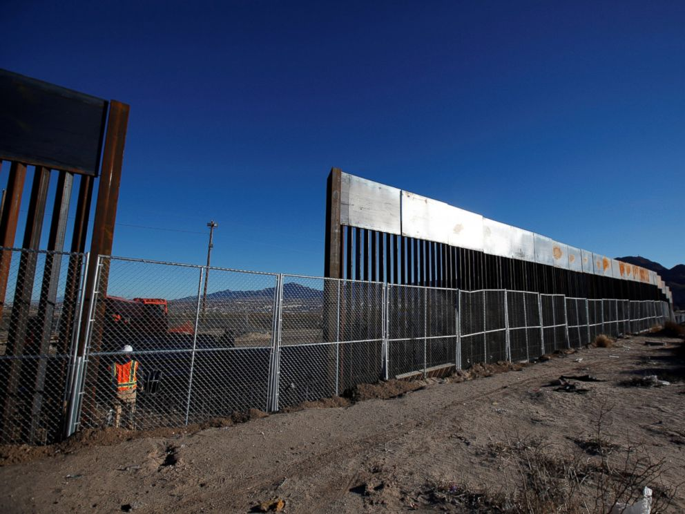 Wall Construction In Us : It s official the wall construction has begun envolve