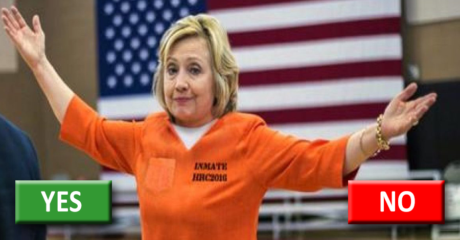 POLL: Is The WikiLeaks Information About Hillary Selling Gov't Secrets Enough to FINALLY Take Her Down?