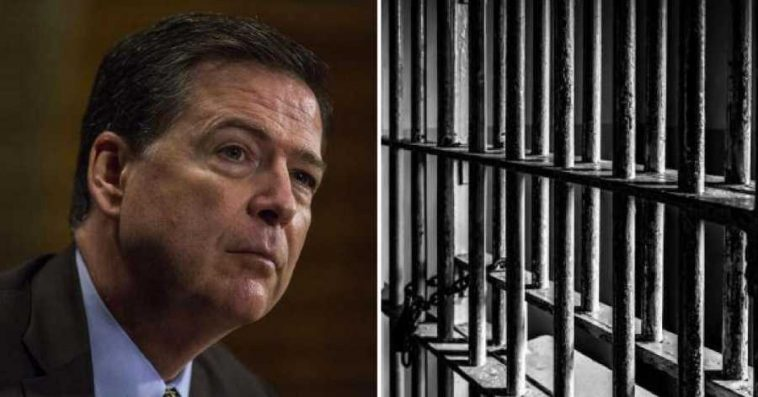 Image result for James Comey in prison
